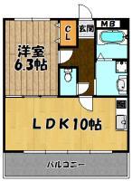 瑞光セレニテ1号室
