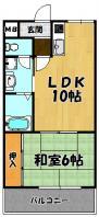 堀田ハイツ1LDK
