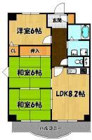アミニティ豊里7番館1号室