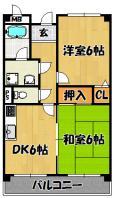 アメニティ豊里Ⅱ(302・402)