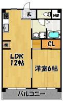 フローレスⅠ(205号室)1LDK