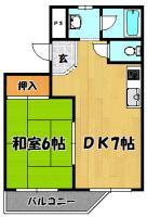 豊里シティハイツ2号室