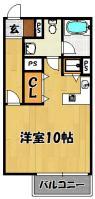 シャトレ上新庄(203号室)