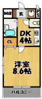 クリアコートu パート5 203号室