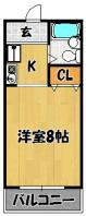 ガーデン上新庄(8帖)