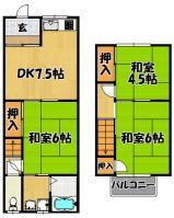 辻中ハイツ(4戸1貸家)大桐4-1-57