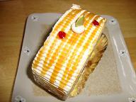紋父からのケーキ