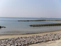 伊良湖海沿い2