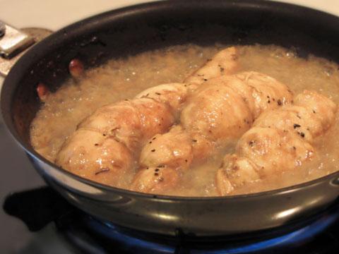 鶏胸肉料理中