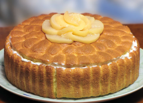 シャルロットケーキ