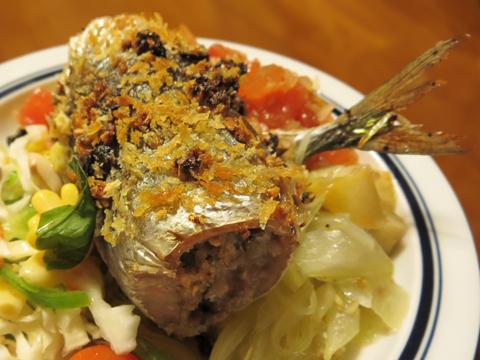 秋刀魚のベッカフィーコ