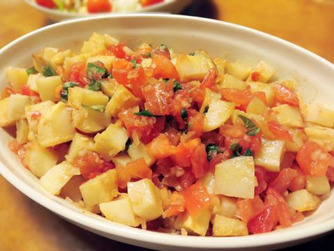 トマトとポテトのサラダ風