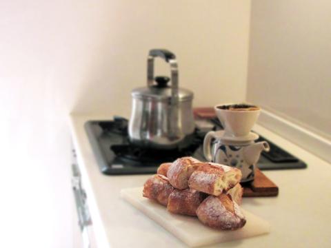 朝のキッチン