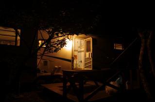 宿につくともう日が沈んでました。