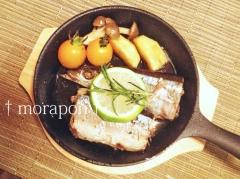 140927 秋刀魚のコンフィ-3