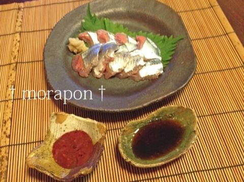 140924 トロ秋刀魚の刺身-2