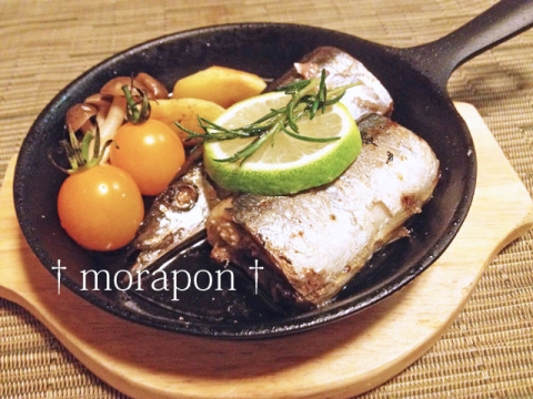 140928 秋刀魚のコンフィ-2