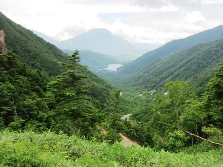 金精峠から湯の湖と戦場ヶ原