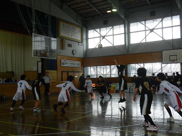 ミニバス練習試合 058