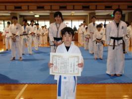 2011年JTA最優秀敢闘賞 少年部有級者の部