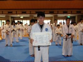 2011年JTA関東中学生敢闘賞