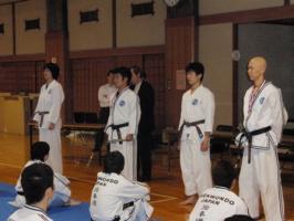 全日本テコンドー選手権大会選抜