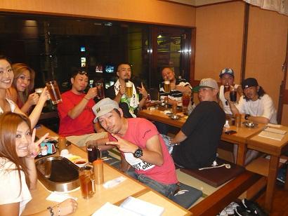 8月18日福井乾杯