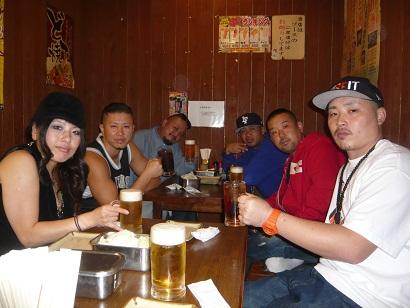 10月19日大阪乾杯