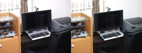 旧パソコン(交差法)