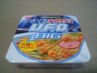 日清食品「日清焼そばU.F.O. シーフード&オーロラソースビッグ」