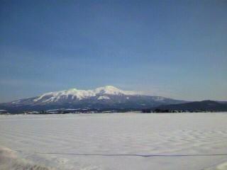 出羽富士「鳥海山」
