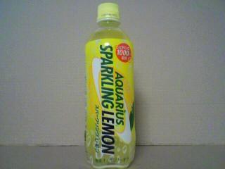 日本コカ・コーラ「アクエリアス スパークリングレモン」