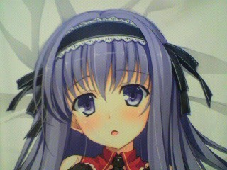 「恋騎士 Purely☆Kiss」憂姫はぐれ描き下ろし抱き枕カバー(藤守 由宇)表側
