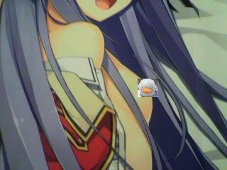 「恋騎士 Purely☆Kiss」憂姫はぐれ描き下ろし抱き枕カバー(藤守 由宇)裏側