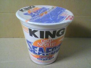 日清食品「カップヌードル シーフードヌードル キング」