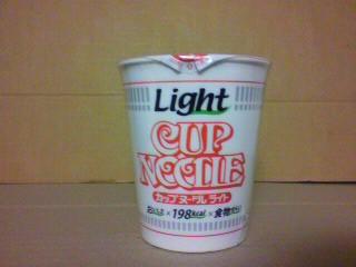 日清食品「カップヌードルライト」