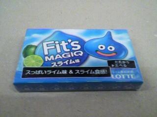ロッテ「Fit's MAGIQ(フィッツ マジック)スライム」