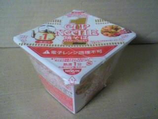 日清食品「カップヌードル焼そば 1ミニット」