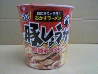 マルちゃん(東洋水産)「豚しょうが醤油ラーメン」