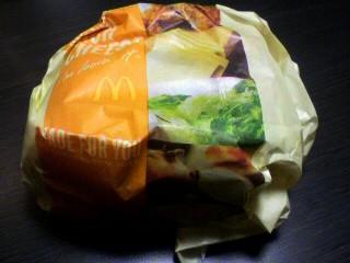 マクドナルド「ビッグチキンリッチチーズ」