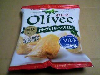 カルビー「Olivee(オリービー)ソルト」