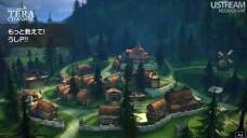 伐採者の村景観