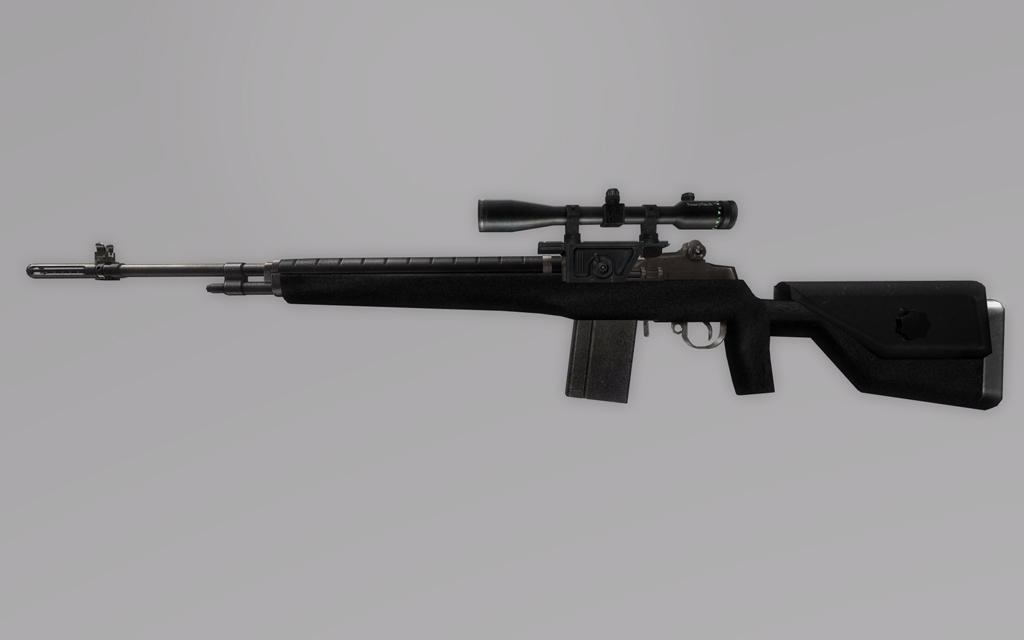 Vietnam M14 Sniper Rifle M14 Ebr Airsoft