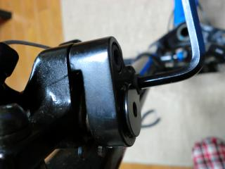 ローター干渉の改修作業・1