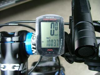 1000km走行達成!