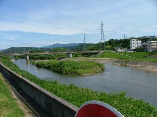 夏井川にかかる平神橋