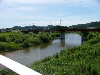 夏井川にかかる平大橋