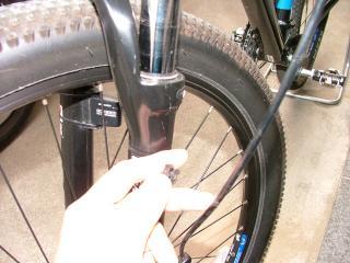 ブレーキケーブルの修正作業・3