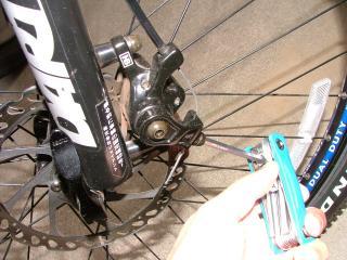 ブレーキケーブルの修正作業・4