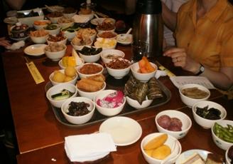 第11期茶芸師ツアー 茶館でのお食事